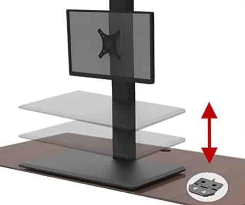 AnthroDesk ErgoConvert Electric Standing Desk Extender
