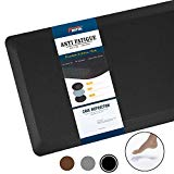 Discover Anti Fatigue Mat Kitchen Mats Cushioned,Thicken Core Foam 20x32x9/10-Inch,Perfect for Kitchens,Standing Desks and Garages,Phthalate Free,Relieves Foot,Knee,and Back Pain(Black,20″x32″)