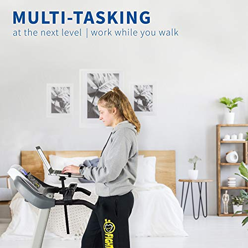 Genius VIVO Universal Laptop Treadmill Desk, Adjustable Ergonomic Notebook Mount Stand for Treadmills Stand-TDML1