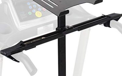 Healthy VIVO Universal Laptop Treadmill Desk, Adjustable Ergonomic Notebook Mount Stand for Treadmills Stand-TDML1