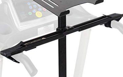 Healthy VIVO Universal Laptop Treadmill Desk, Adjustable Ergonomic Notebook Mount Stand for Treadmills Stand-TDML1